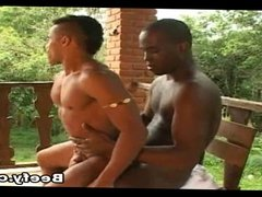Outdoor AnalSex With Black Gays