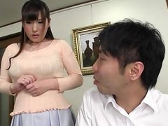 Big tits asian tit fucking a japanese guy wit