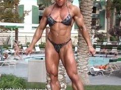 hard built woman