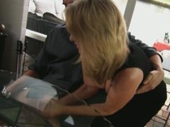 Jodi West Undertable Handjob