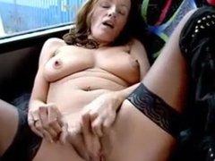 naughty fun at the bus stop
