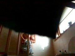 45yo bbw sister in law in shower