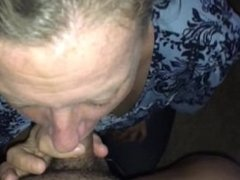 Bbw gives thanks. And receives a huge facial