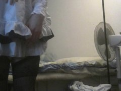 Part 1 sissy maid action