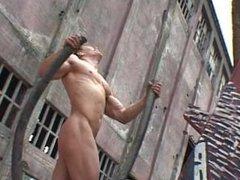 Bodybuilder posing 3.