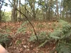GIRLFRIEND CAUGHT CHEATING with 2 mates in woods
