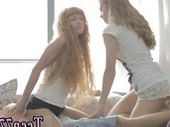 Maria my 18 teens 2 women penetrate 1 man