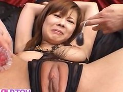 Sakurako is tied and aroused with vibrators