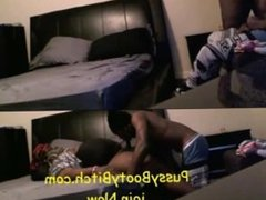 Thug Chokes on Dick''