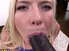 Big butt Anikka Albrite takes big black dick