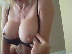 Man Having Hottie Erected Boobs FROM SEXDATEMILF.COM