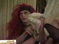 Redhead Crossdresser Talking About Her Sexual Orientation