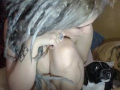 Dreads Chick With Hairy Pussy - bestcams.cc