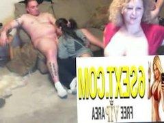 Desperate whore is super horny