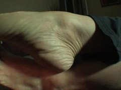 La Creme Sock Removal on Couch