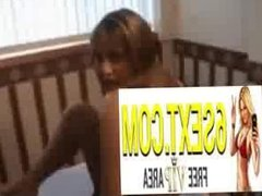Amateur babe tries first time