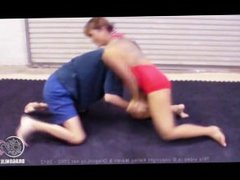 Dragon Lily foot wrestling