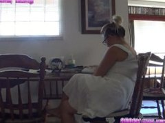 Farts in White Dress