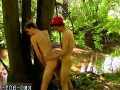 Blonde hairy raw gay porn Skylar West has been waiting in the forest for