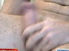 My gym made a porn: watch his huge cock gets sucked by a guy!