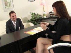 Hot Horny Office Slut Gets Banged Out By Her Boss HD
