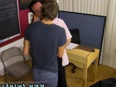Gay porn daddy gets throat fucked by twink Blake Allen can't afford to