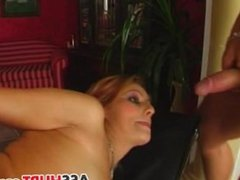 Melissa gets rough anal