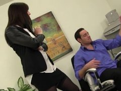 Hot Babe Samantha Gets Nude For Some Dick At Work HD