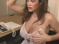 Stephanie Bews is a hard worked secretary - In The Office