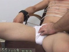 Big hard gay cock I slipped a rubber spear over his rigid shaft and