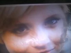 Cum on Hetti Bywater Teenage face