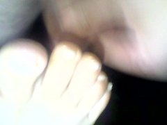 leche en pies de mi mujer dormida 17