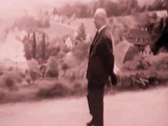 Martin Heidegger discovers Sinn vom Sein on Feldweg