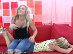 Jane and Layla Butt Crush