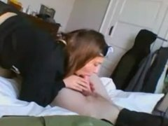 sexy teen gets eatin out on cam