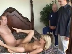 Housewife fucked and jizzed on her face