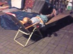 asian daddy sleeping