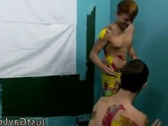 Light brown hair on hot white dick gay porn movies Jasper and Ryker are