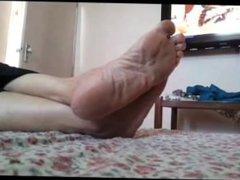 Feet of Mature Indian Goddess 5