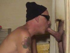 boys first gloryhole (cums 3 times)
