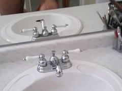 getting head in washroom part 2
