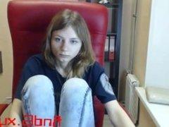 teen kassi_cute flashing ass on live webcam - 6cam.biz
