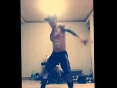 Energetic Hunk- Sexy Shirtless Dance & Twerking (No Nudity) Part 1
