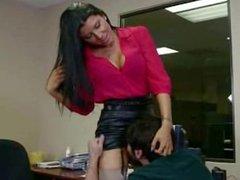 Amazing Secretary Fucked In Office