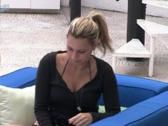 Big Brother Brazil - blonde smoking