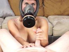 Gas Mask Handjob Ava C4S