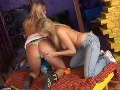Lexi lamour lesbian Two sugary-sweet platinum-blonde lesbians