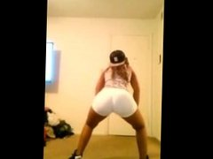 big booty black teen twerks from BlacksCrush.com