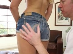 Teen Blonde Fucked By Friends Dad
