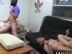 Young gays bis porn tube This week's HazeHim obedience movie is pretty